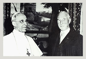 Pope Pio XII and Dr Paul Niehans